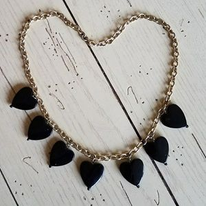 Black Heart 🖤 Necklace